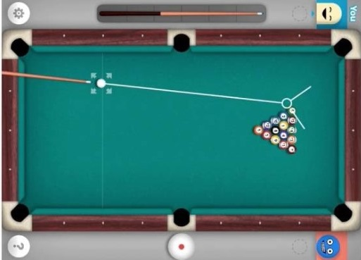 8 ball pool on GamePigeon