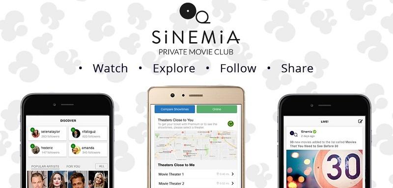 Sinemia app