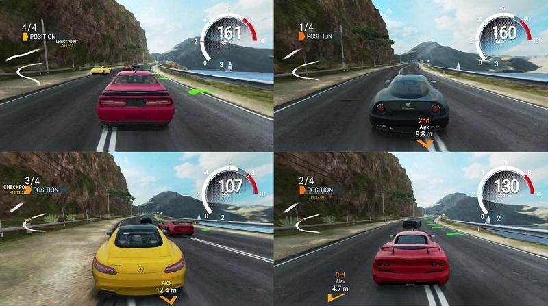 PS4 split-screen racing games