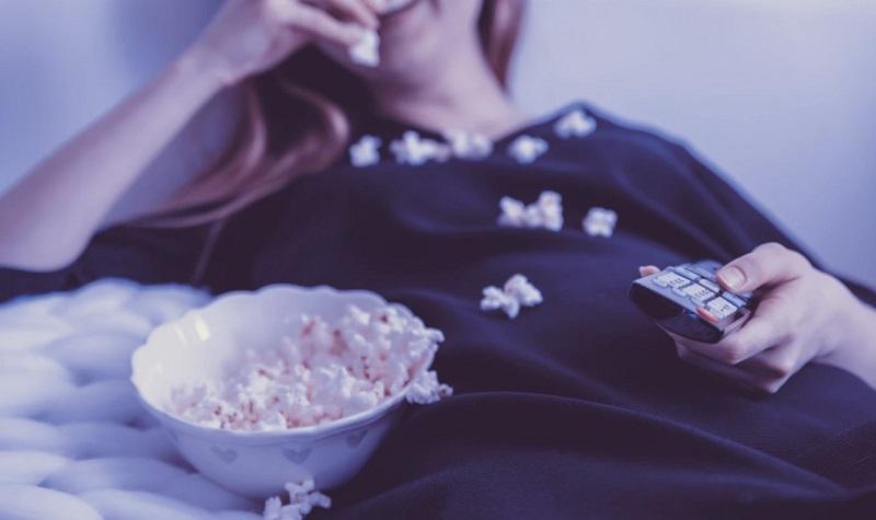 watching movie