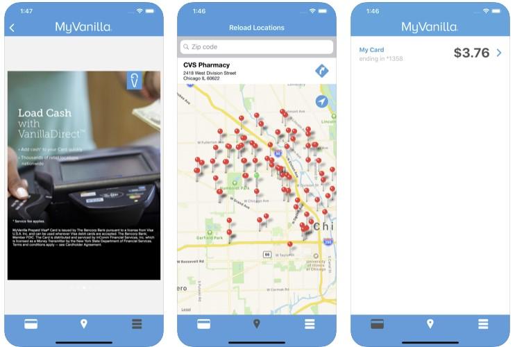 MyVanilla app store