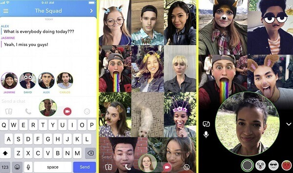 Snapchat video