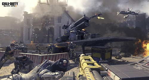 Call of Duty Black OPS III 4 players