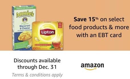 EBT Amazon offer