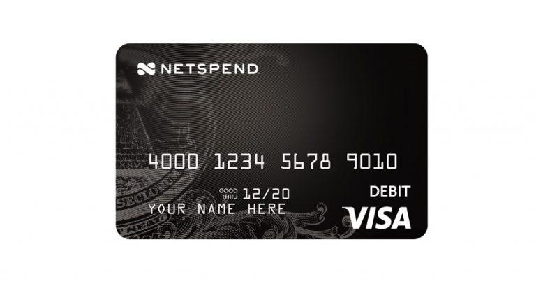 NetSpend debit card