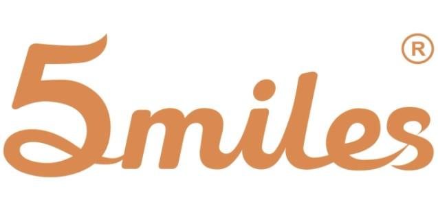 5 miles logo