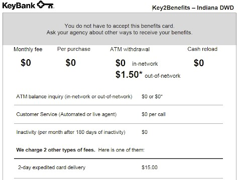 Key2Benefits balance