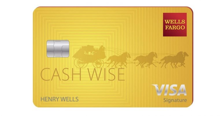 Wells Fargo credit card sample