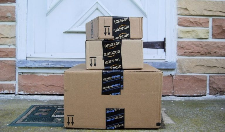 amazon order at doorstep
